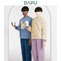 DAPU 大朴 加厚加绒保暖情侣睡衣套装