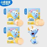 小鹿蓝蓝 儿童磨牙夹心米饼 45g