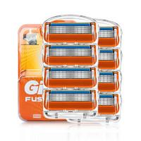Gillette 吉列 Fusion 锋隐 手动剃须刀头 8刀头