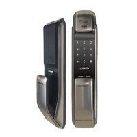 SAMSUNG 三星 SHP-DP728 智能电子密码锁 香槟金 内开门