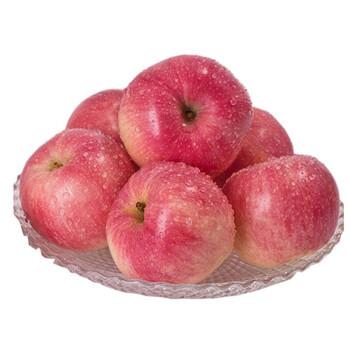 新鲜红富士苹果水果冰糖心5斤好吃的一整箱陕西平果生鲜萍果水果 5斤装(净重5斤) *3件
