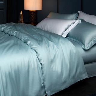 LOVO 乐蜗家纺 60支双面长绒棉纯色四件套 1.8m
