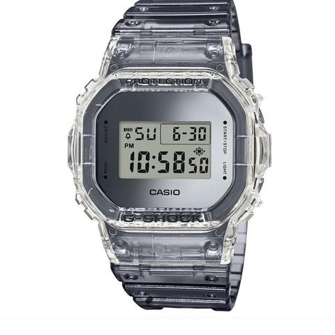 银联返现购:CASIO 卡西欧 G-SHOCK 冰韧系列 DW-5600SK-1 男士运动腕表