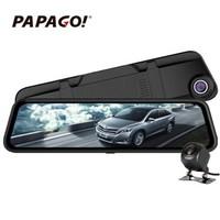 京东PLUS会员:PAPAGO 趴趴狗 GS990 行车记录仪 双镜头