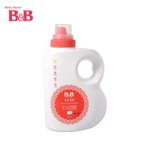 B&B 保宁 婴幼儿洗衣液 桶装1800ml *5件