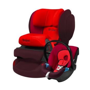 Cybex 赛百适 Juno 2-fix 儿童安全座椅 伦巴红(9个月-4岁)