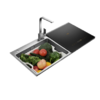 FOTILE 方太 JBSD2T-K3B 水槽洗碗机 7套碗 黑色