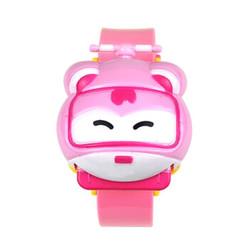超级飞侠儿童手表玩具卡通 幼儿男孩女孩变形电子表小 学生小爱 *2件