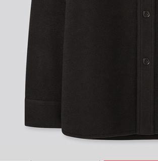 UNIQLO 优衣库 432963 男士摇粒绒衬衫式茄克