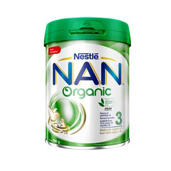 Nestlé 雀巢 能恩系列 有机Organic婴儿配方奶粉 3段 900g(12-36个月)港版