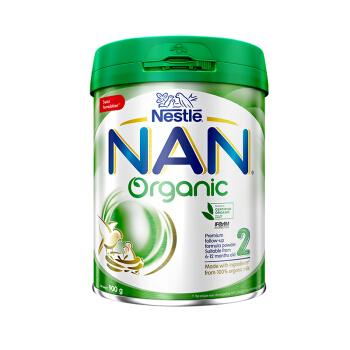 Nestlé 雀巢 能恩系列 有机Organic婴儿配方奶粉 2段 900g(6-12个月)港版