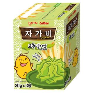 卡乐比Calbee 海太佳可比薯条三兄弟芥末味薯条90g  韩国进口零食