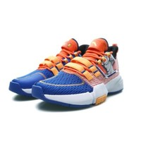 ANTA 安踏 龙珠超联名系列 男士篮球鞋 112021615-2 赛车蓝/荧光热力橙