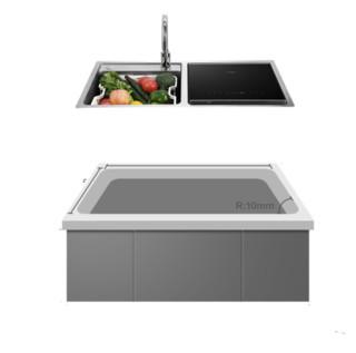 FOTILE 方太  JBSD2F-Q5H 嵌入式水槽洗碗机 6-7套
