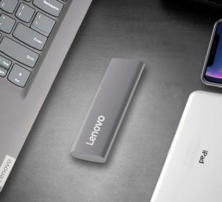 Lenovo 联想 ZX1 移动固态硬盘 1TB  USB 3.1接口 金属银