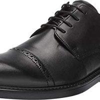ECCO 爱步 Men's Melbourne Wing Tip 墨尔系列 男士牛津布系带皮鞋