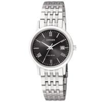 CITIZEN 西铁城 光动能系列 EW1580-50E 钢带女款手表