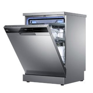 Haier 海尔 EW158166 嵌入式洗碗机 15套 香槟银色