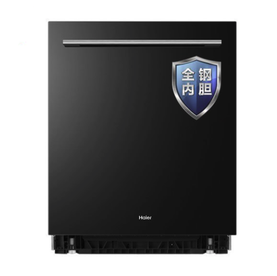 海尔(Haier)13套家用嵌入式全自动洗碗机EYW13029T 80℃双微蒸汽消毒除菌 智能开门烘干刷碗机
