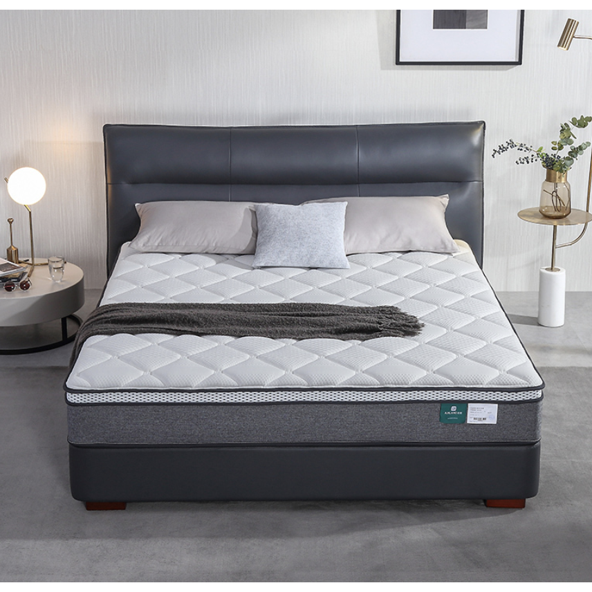 AIRLAND 雅兰 素作PLUS 六环独袋弹簧乳胶羊毛棉床垫 1.5/1.8m