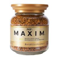 AGF MAXIM AGF Maxim 马克西姆 速溶纯黑咖啡 金罐 80g