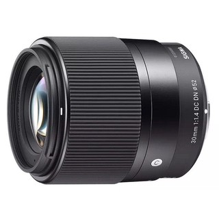 SIGMA 适马 30mm F1.4 DC DN Contemporary 定焦镜头 索尼E卡口