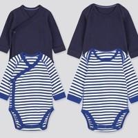 限尺码:UNIQLO 优衣库 婴儿连体衣 2件装