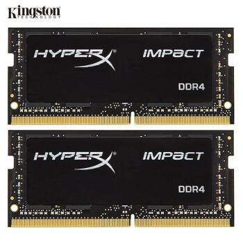 Kingston 金士顿 HyperX Impact DDR4 3200MHz 笔记本内存条 16GB(8GBx2)