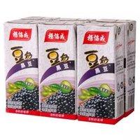 杨协成 黑豆豆奶 利乐包组合装 250ml*6盒 马来西亚进口饮料 新加坡百年品牌 新老包装随机发货 *11件
