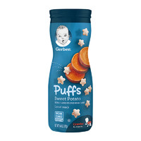 Gerber 嘉宝 婴幼儿甜薯味泡芙 3段 42g(8个月以上)美版