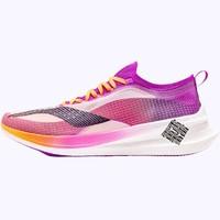 LI-NING 李宁 疾速䨻发系列 飞电 2.0 ELITE 跑鞋 ARMQ014 荧光梅紫/荧光釉橙