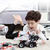 ONEBOT 工程车积木玩具汽车儿童男女孩组装拼装玩具小颗粒积木 矿山卡车复刻版