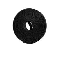 SECAS 色格 魔术贴理线带 2米 单卷装 黑色