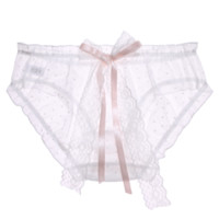 UROU K63 女士日系网纱内裤