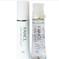 FANCL 芳珂 水盈补湿系列清爽型护肤套装 2件套(化妆水30ml+保湿乳液30ml)