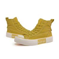 Kappa 卡帕 K0AY5VS55D 情侣款串标帆布鞋