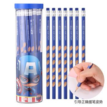 Disney 迪士尼 E0060A 三角杆洞洞铅笔 带皮头 30支/桶 *6件