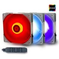1日0点:Thermalright 利民 TL-R12 RGB 12CM 机箱风扇 3合1套装