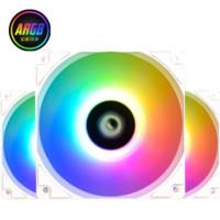 粉丝专享:ID-COOLING XF-12025-TRIO ARGB 机箱风扇 白色
