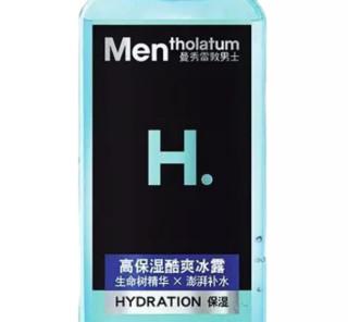Mentholatum 曼秀雷敦 HY保湿活力系列男士高保湿酷爽冰露 145ml