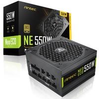Antec 安钛克 NE550 Gold 550W 全模组化 电脑电源 金牌