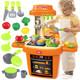 勾勾手 儿童玩具 大号儿童过家家玩具 女孩做饭厨房玩具宝宝厨具餐具套装 37元