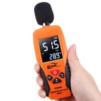 速为 噪音计 分贝仪手持式噪声噪音测试仪环境音量测量仪 SW6004彩屏旗舰版(可设置报警值)