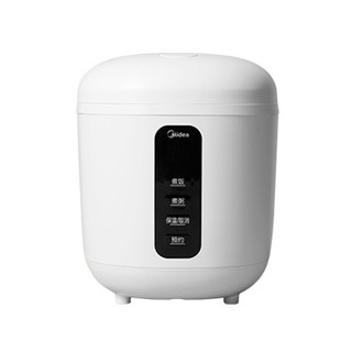 Midea 美的 MB-FB08M301 智能电饭煲 0.8L 白色