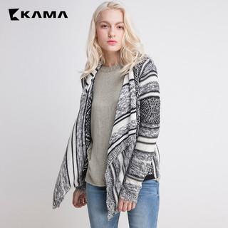 KAMA 卡玛 7416459 秋冬圆领打底毛针织衫
