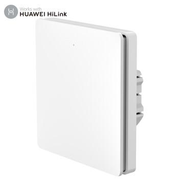 华为HiLink&领普智能开关单开开关面板 手机远程控制联动小艺智能语音控制86型墙壁 零火单键版