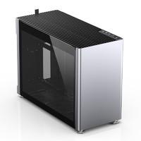JONSBO 乔思伯 i100 Pro ITX机箱 半侧透 银色