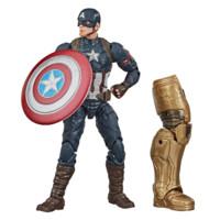 Hasbro 孩之宝 复仇者联盟传奇公仔经典系列 F0443 美国队长 附赠灭霸部分零件 *2件