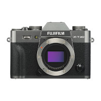FUJIFILM 富士 X-T30 单电相机 单机身 雅墨灰