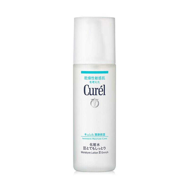 Curel 珂润 日本花王 珂润(Curel)润浸保湿化妆水3号 Ⅲ号(滋润型)爽肤水 柔肤水 温和滋润补水 150ml 敏感肌可用